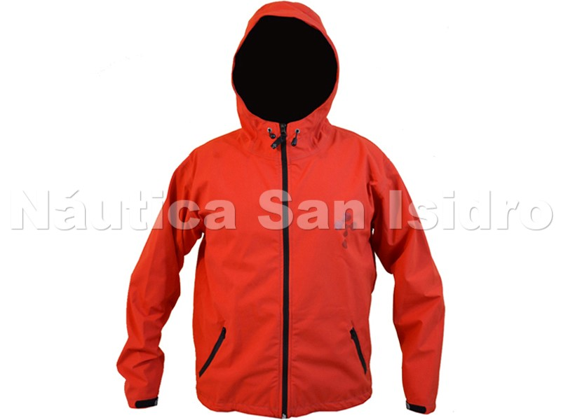 CAMPERA IMPERMEABLE TRICAPA C/ CAPUCHA THERMOSKIN