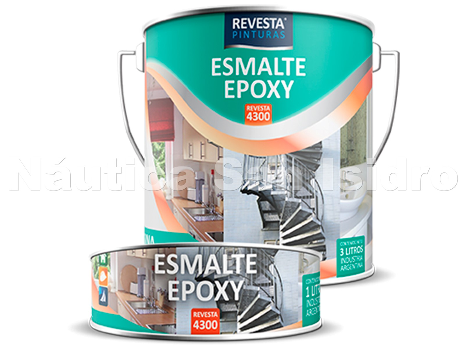 EPOXY BLANCO-COLOR x 4 Lts 4300 REVESTA