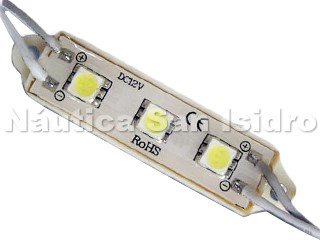 LAMPARA MODULO 3 LEDS BLANCO CALIDO