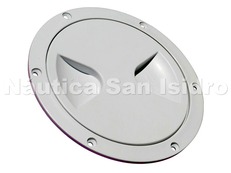 TAPA INSPECCION ESTANCA 4'' BLANCA -619-
