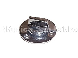 TAPON DE ACHIQUE CON BASE BRONCE -584-