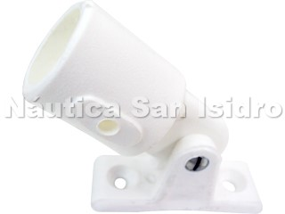 BASE CON TINTERO MOVIL 23mm BLANCO -531-